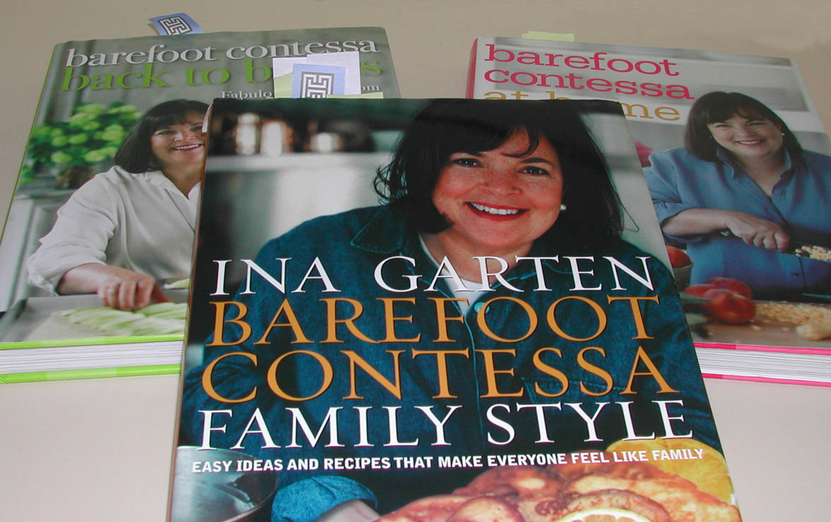 Ina Garten Has Some Of The Best Newer Cookbooks Out On Market Today I Own Three Her Books Barefoot Contessa At Home Back