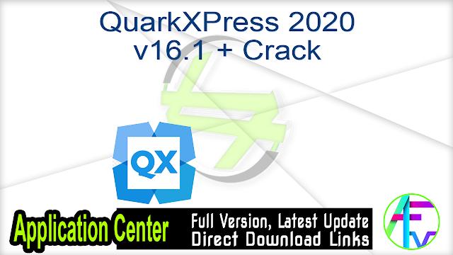 QuarkXPress 2020 v16.1 + Crack