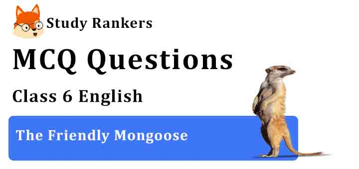 MCQ Questions for Class 6 English Chapter 2 The Friendly Mongoose A Pact with the Sun