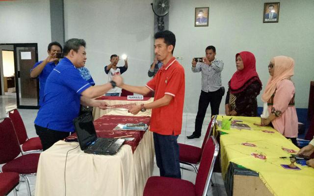Partai NasDem Soppeng Resmi Mendaftar di KPU