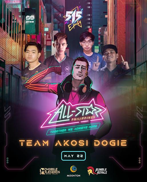 Team AkoSi Dogie to face Team Andrea Brillantes |  Benteuno.com