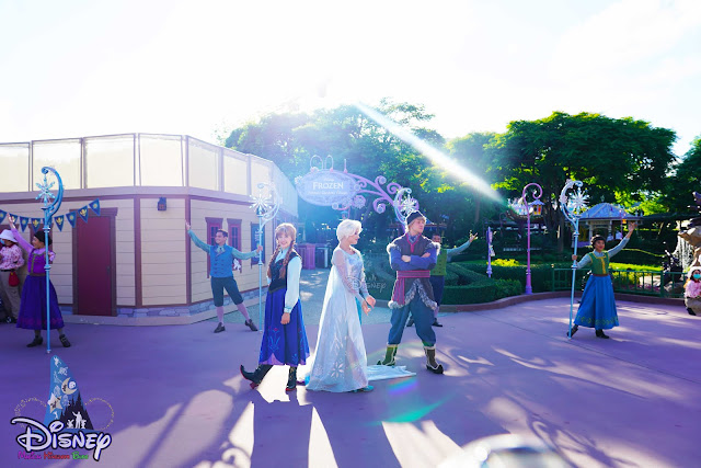 香港迪士尼樂園重開 Hong-Kong Disneyland reopening meet-and-greets frozen elsa anna princess