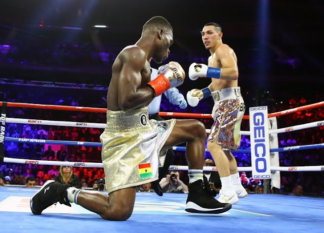 Teofimo Lopez Richard Commey 8