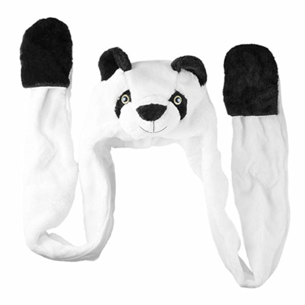 Panda Bear Plush Winter Hat