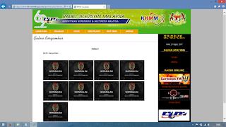 Tampilan Situs Pemerintahan Malaysia yang Dideface oleh Hacker Indonesia