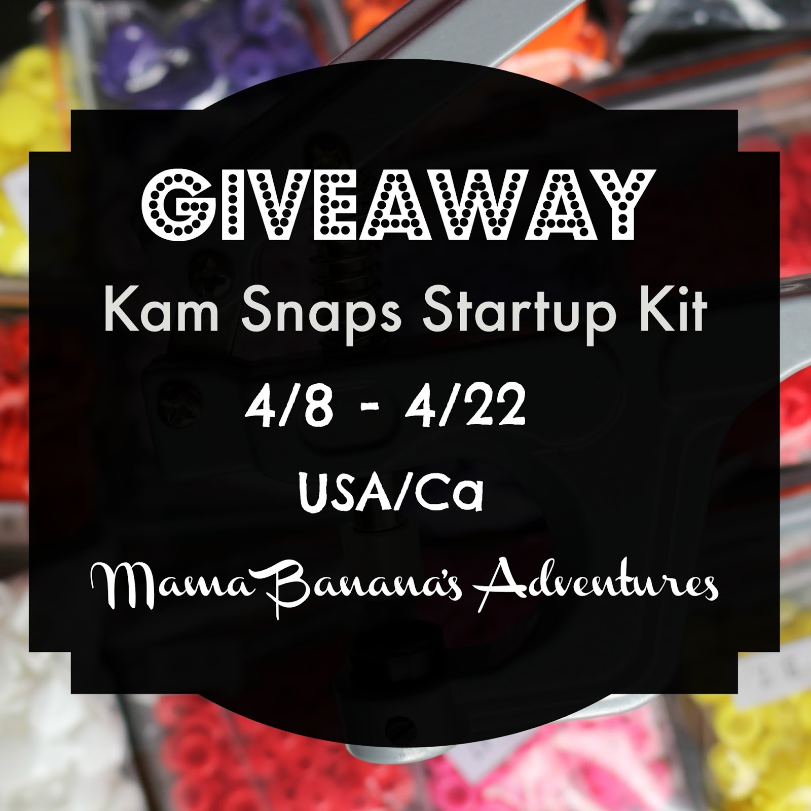 Kam Snaps K2 Pliers and Accessories Giveaway USA/Ca ends 4