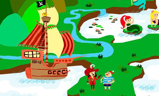 Ilustración, Never neverland de Esmeralda Puerto