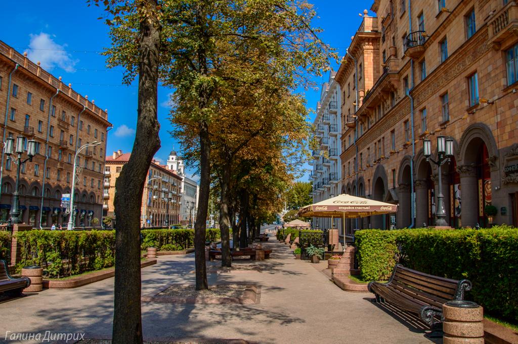 Улица Ленина Минск фото