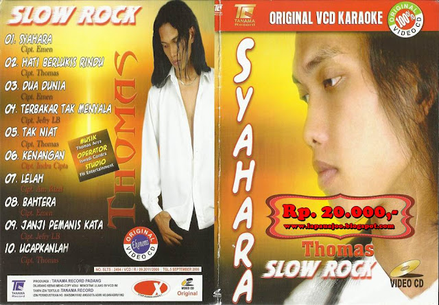 Thomas Arya - Syahara (Album Slowrock)