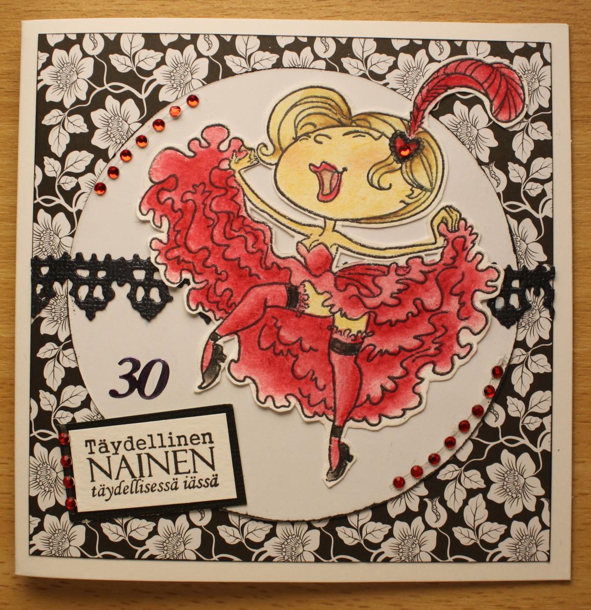 30 vuotis runo naiselle