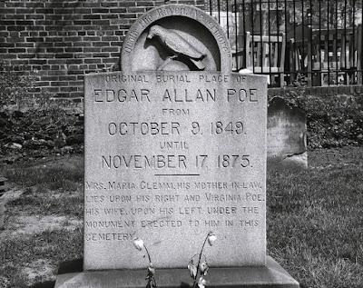 Edgar Allan Poe, Biografia de Poe, Obras de Edgar Allan Poe, História de Edgar Allan Poe, Literatura, Movimento Gótico, Túmulo de Edgar Allan Poe