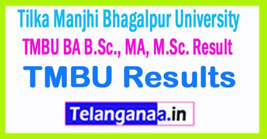 TMBU Tilka Manjhi Bhagalpur University Result 2018