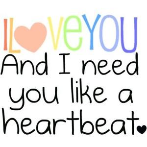 I Need You Pics