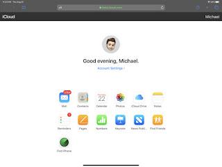 cara lacak iphone via web iCloud