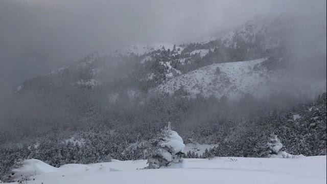 """Προ των πυλών η """"Χιόνη"""" - Ισχυρά τα φαινόμενα το απόγευμα και βράδυ"""