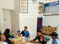 Jalin Keakraban, Babinsa Koramil 01/MD Komsos Dengan Perangkat Desa