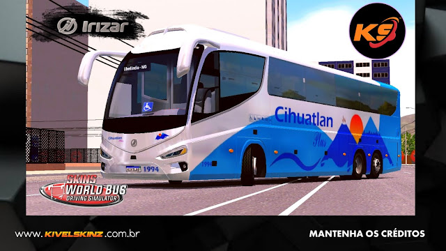 IRIZAR i8 - VIAÇÃO TRANSPORTE CIHUATLAN