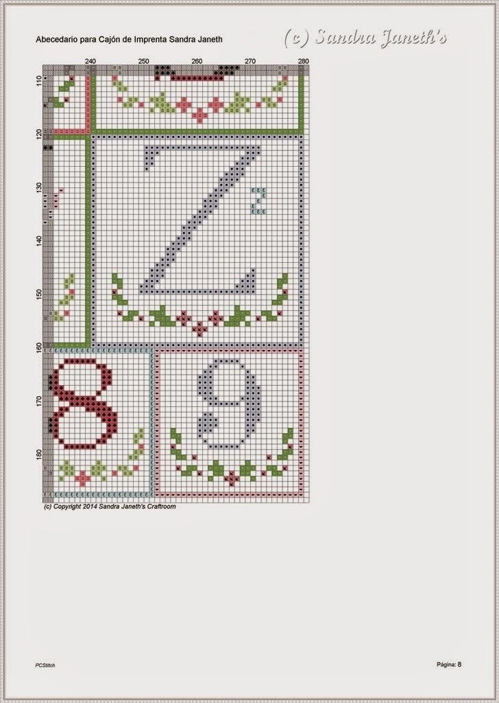 Esquema SJSC - PX0003 - Abecedario para Cajón de Imprenta