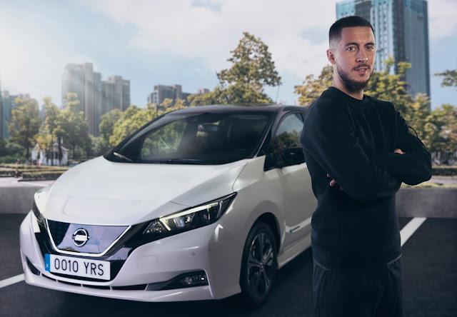 Το αστέρι της Ρεάλ Μαδρίτης  Eden Hazard, συμμετέχει στο κίνημα #ElectrifyTheWorld της Nissan