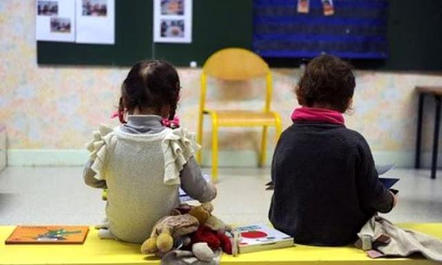 Mattinata: in una scuola materna, bambini insultati e minacciati. Interdetta un maestra