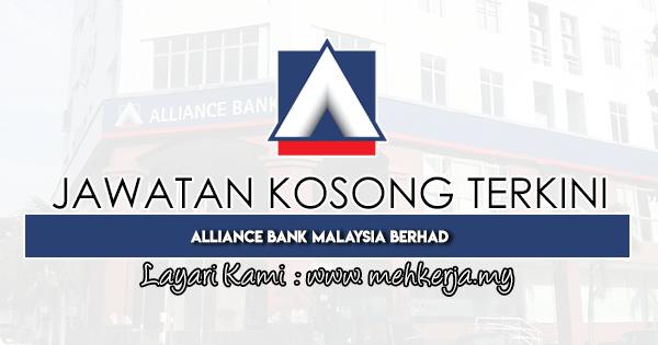 Jawatan Kosong Terkini 2020 di Alliance Bank Malaysia Berhad
