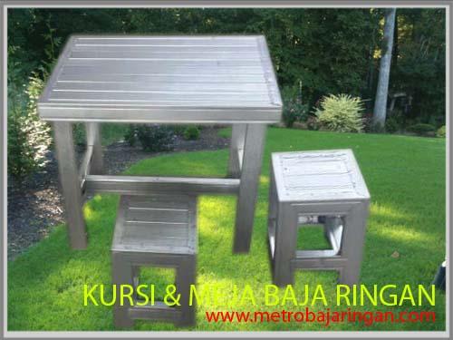 Gunting Untuk Rangka Baja Ringan Tips Membuat Kursi Dan Meja Dari Sisa Metro