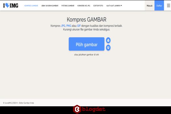 Cara Mengkompres Foto Online