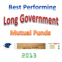 Best Performing Long Government Mutual Funds 2013