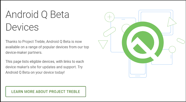 download beta version of android q