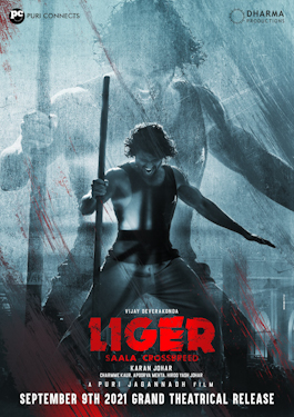 Liger Box Office Collection Day Wise, Budget, Hit or Flop - Here check the Telugu movie Liger wiki, Wikipedia, IMDB, cost, profits, Box office verdict Hit or Flop, income, Profit, loss on MT WIKI, Bollywood Hungama, box office india