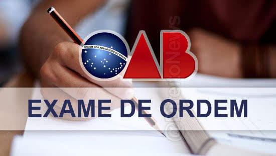 exame ordem 2020 datas provas direito