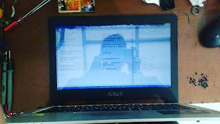 service laptop asus a46c tidak tampil di malang