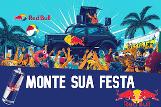 Promoção Red Bull. 2019