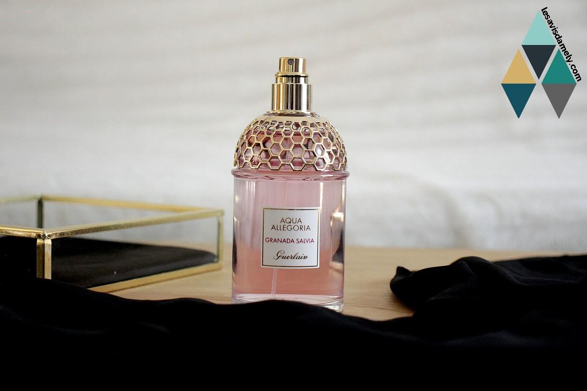 avis et test eau parfumé aqua allegoria granada salvia