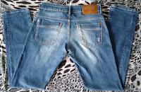 calça jeans Coca-Cola tam 42