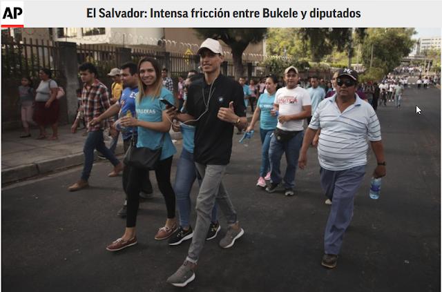 El Salvador: Intensa fricción entre Bukele y diputados