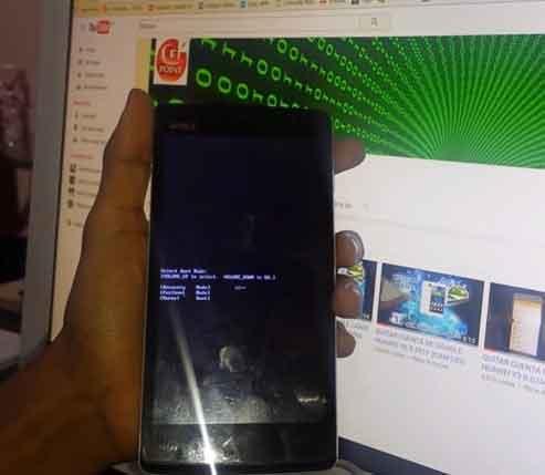 Formatear con Recovery un celular Lanix LT510