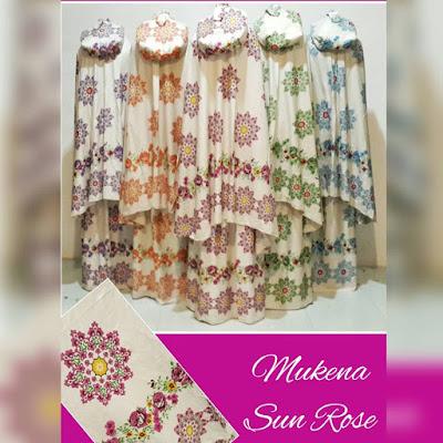 Mukena Elegan Sun Rose