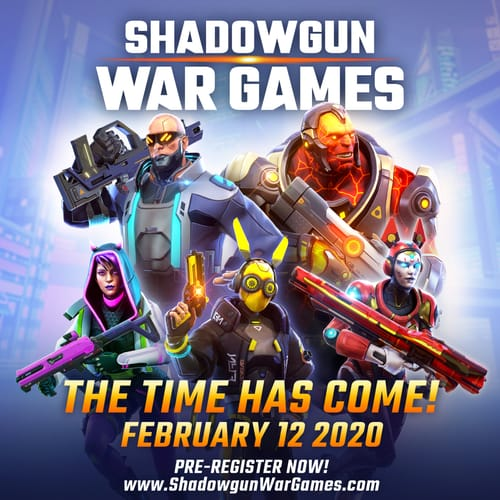 Shadowgun War games will be officially available on February 12