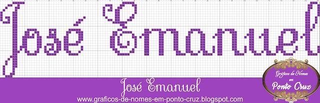 Nome José Emanuel em Ponto Cruz