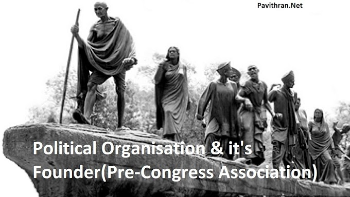 List of Political Associations & their Founders during Indian Freedom Struggle