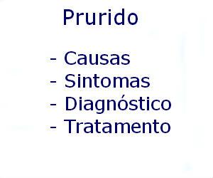 Prurido causas sintomas diagnóstico tratamento prevenção riscos complicações