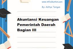 Akuntansi Keuangan Pemerintah Daerah Bagian III