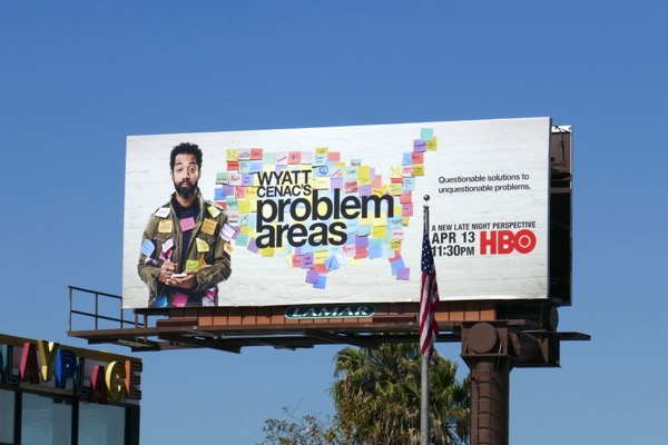 Wyatt Cenacs Problem Areas series billboard