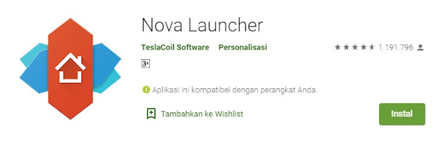 Nova Launcher - masbasyir.com