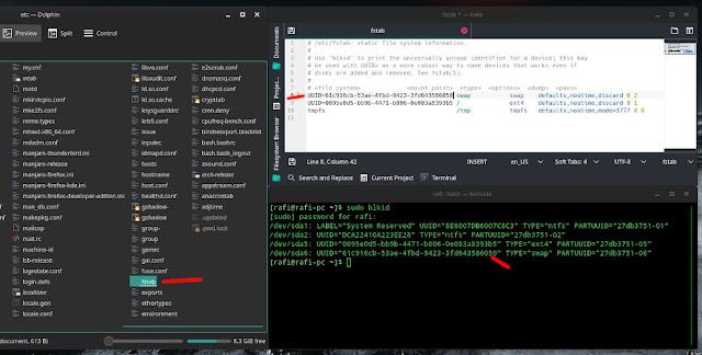 cara memperbaiki error boot linux manjaro start job is running for dev disk