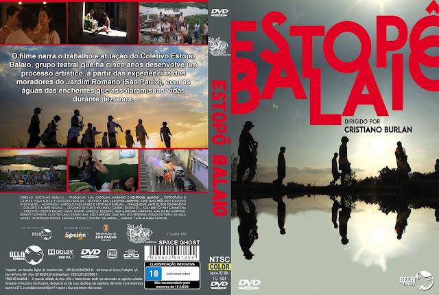 Capa DVD Estopô Balaio
