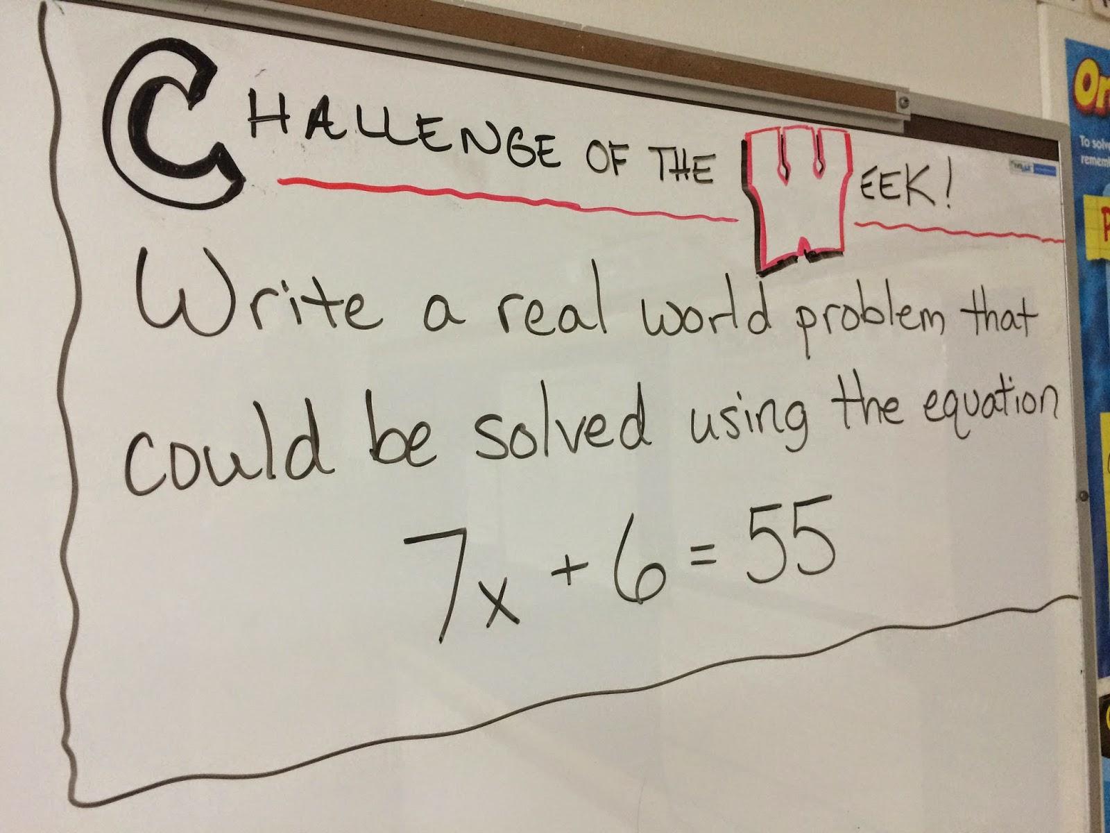 Write word problems as algebraic expressions