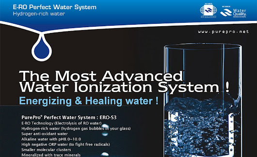 PurePro® Perfect Water Series - A combination of The Best of World !! ( RO / NF + Water Ionizer)