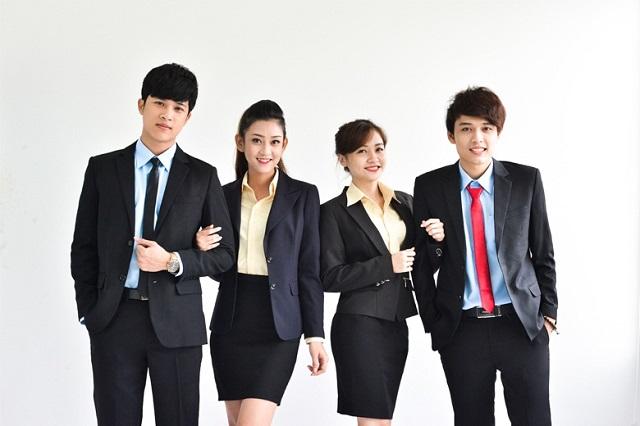 Đồng phục văn phòng giúp xây dựng văn hóa doanh nghiệp